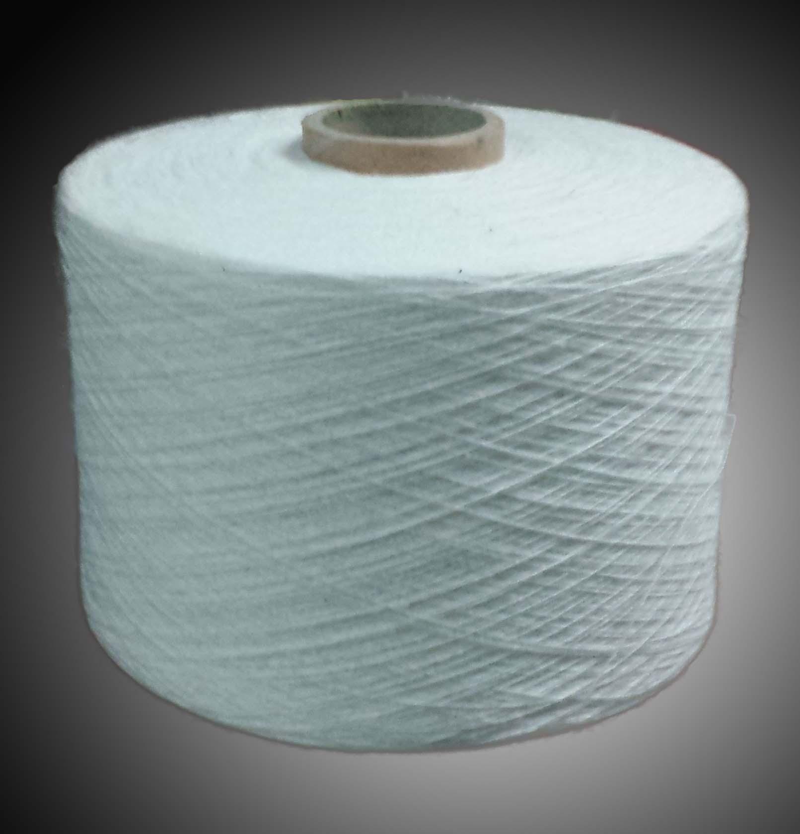 Sợi trắng tẩy làm khăn