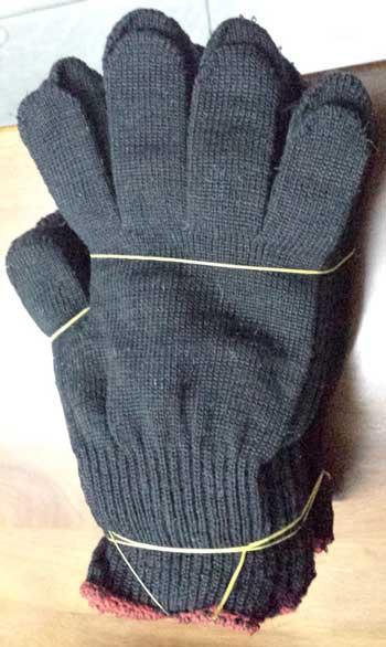 Găng tay đen